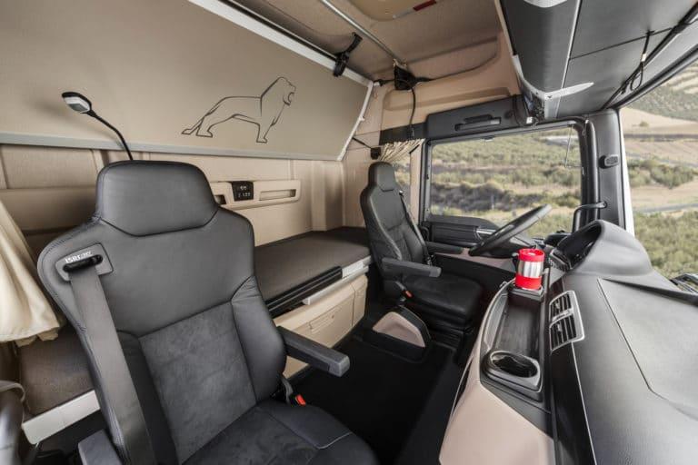 Gamme TG, une nouvelle cabine 2018 pour plus de confort