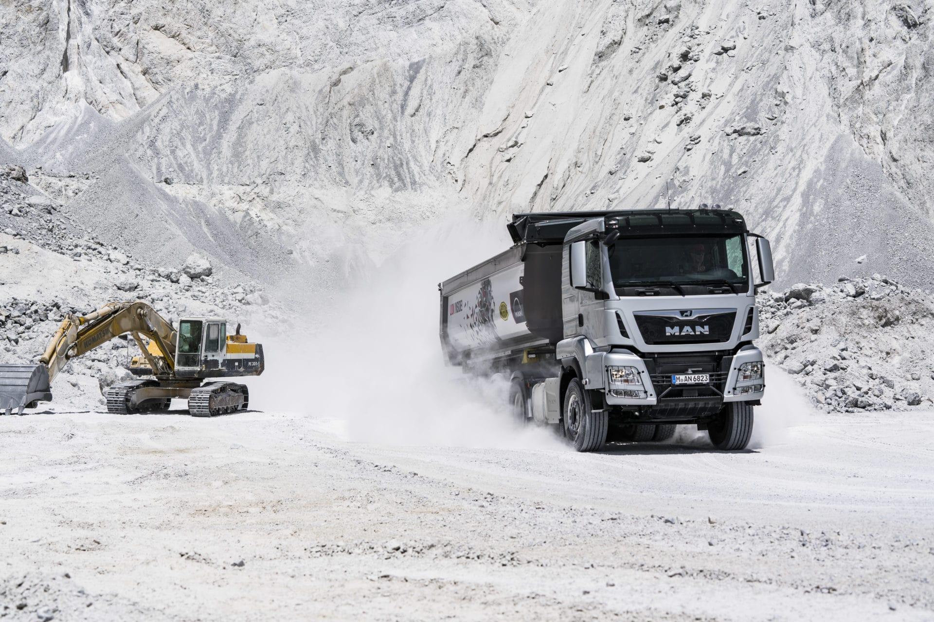 Tracteur TGS chantier MAN