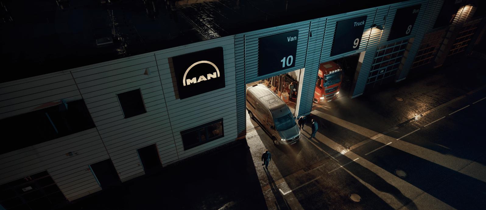 atelier MAN TGE