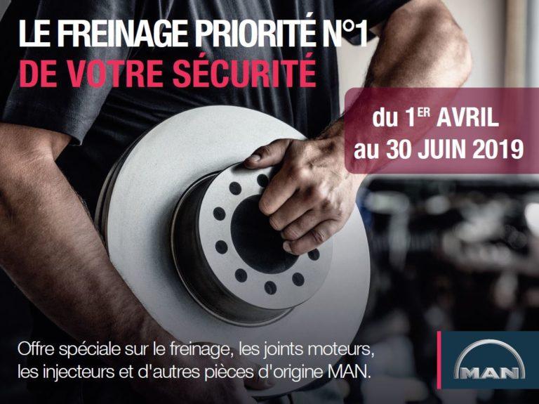 Promotion de printemps : Le freinage priorité n°1 de votre sécurité